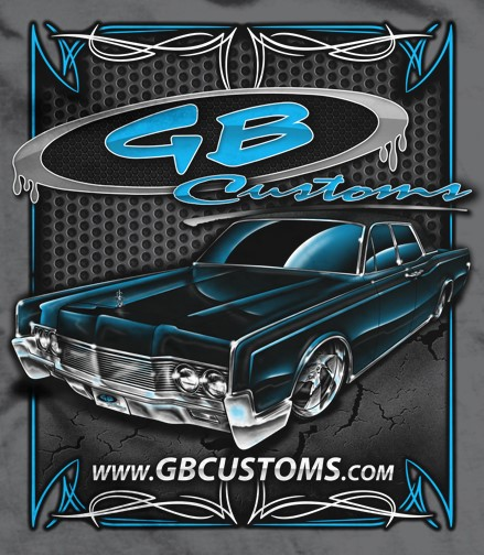 Classic Car Restoration Mount Vernon KY | GB Customs & Collision - GBlincolnShirtPROOF_(2)